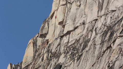 Climbers in the Bugaboo Mountains 01 Footage