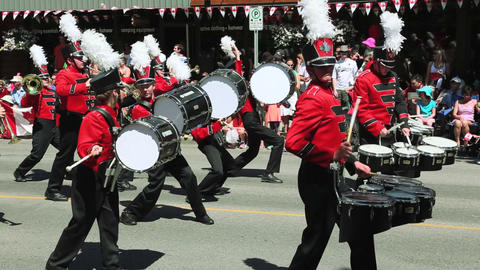 Marching Show Band 01 Footage