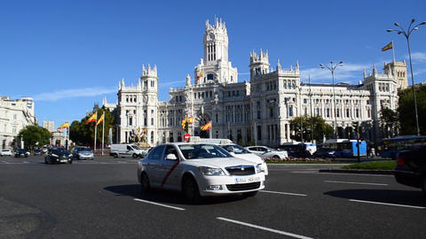 Madrid, Spain stock footage