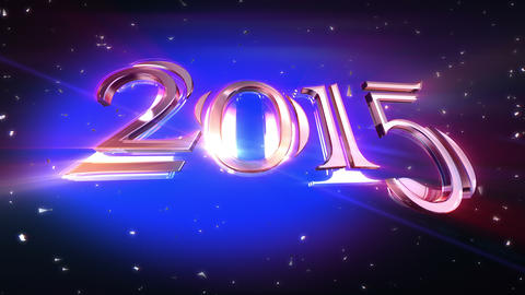 New Year 2015 Animation Animation