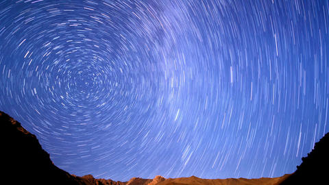 Milky Way is far off. Line. Time Lapse. 1280x720 Live Action
