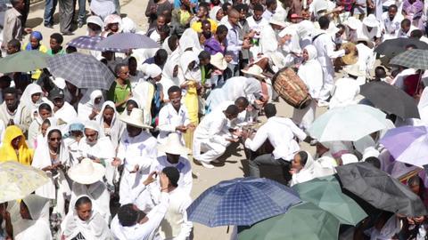 Timket Celebrations in Ethiopia Live Action