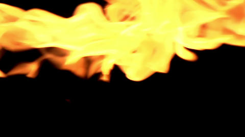 Flames Close Up stock footage