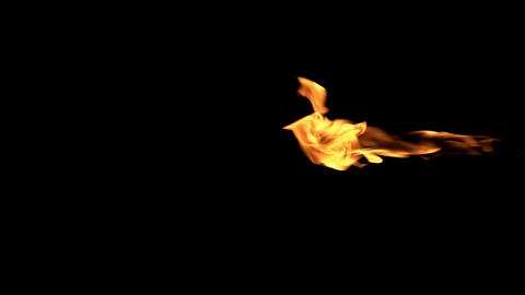 Fiery Jet Streams Footage
