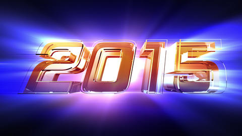 New Year 2015 Countdown Animation Videos animados