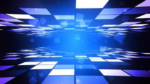 Blue Fashion Corridor Animation