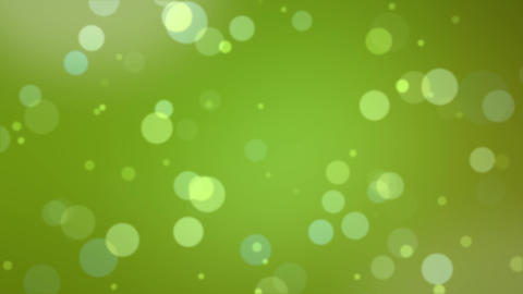 Bookeh Green Looping Background Animation