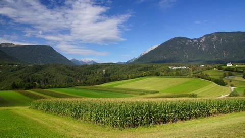 Tirol Landscape stock footage