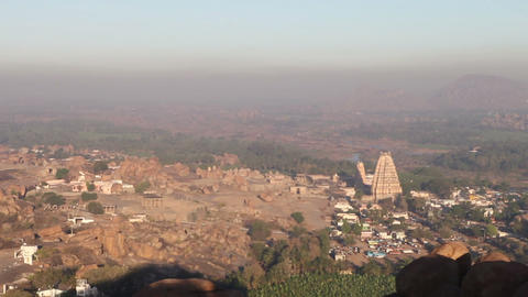 viewpoint in Hampi Footage