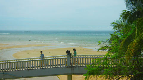 KAMALA. PHUKET. THAILAND - CIRCA OCT 2014: Tourist Footage
