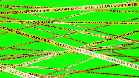 Quarantine Signs 5 Greenscreen Animation
