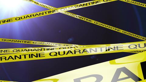 Quarantine Signs 3 flythrough Animation