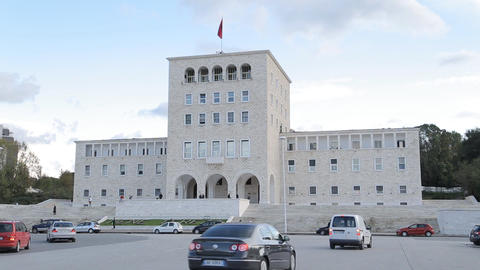 University building in Tirana Live Action