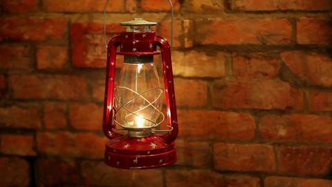 lantern bat swinging in the wind Live Action