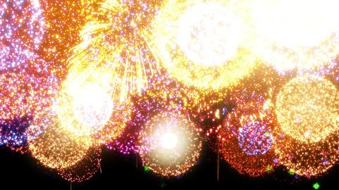 Fireworks Festival 2 En 2p 4k Animation