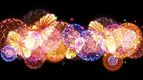 Fireworks Festival 2 Fn 1op 4k Animation