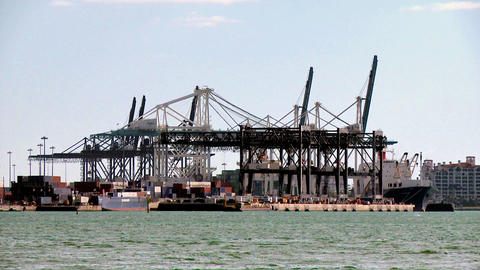Port of Miami Footage