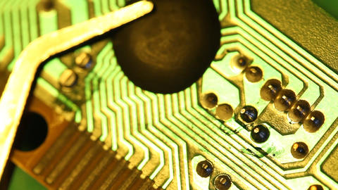 Circuit board stock footage
