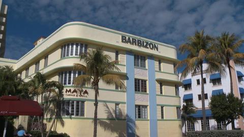Barbizon Hotel on South Beach Footage