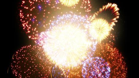 Fireworks Festival 2 Em 3 4 K Animation