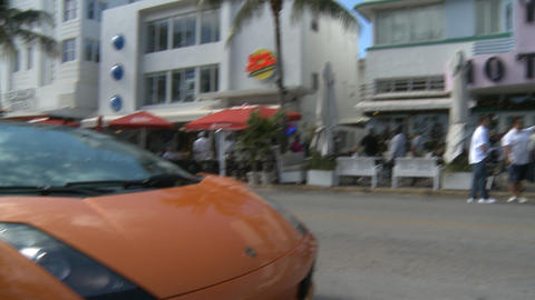 Colony Hotel on South Beach Footage