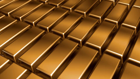 Golden Bars Motion stock footage