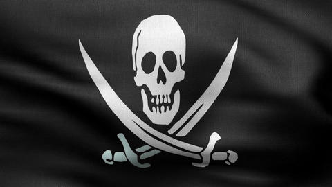 pirate flag flag HD Animation
