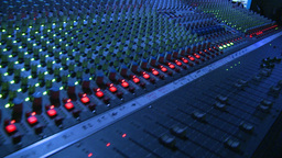 Mixing Board stock footage