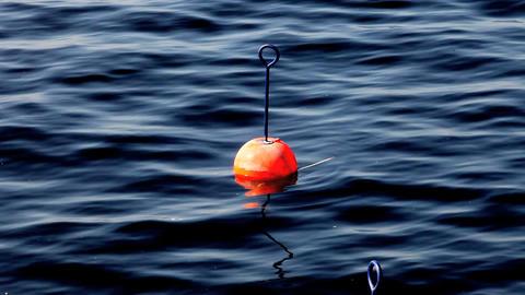 buoy mooring Stock Video Footage