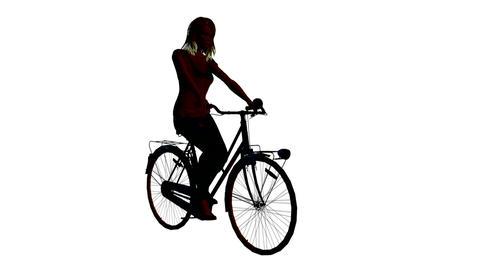 自転車 Animation