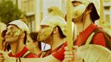 Alexander The Great Warriors stock footage