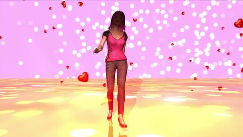 歩く女性 Stock Video Footage