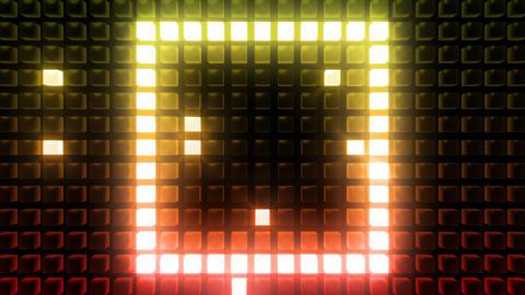 LED Back B B1 HD Stock Video Footage