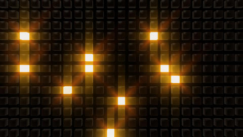 LED Back B C1 HD Stock Video Footage