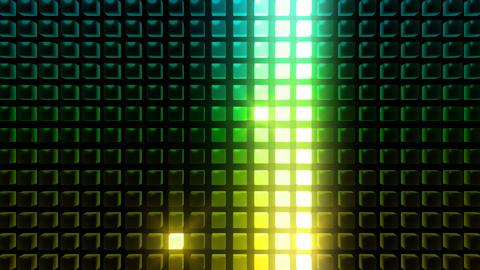 LED Back B WM HD Stock Video Footage