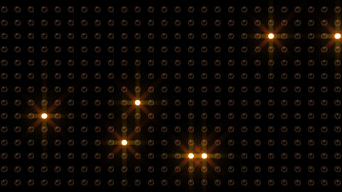 LED Back D C2 HD Stock Video Footage