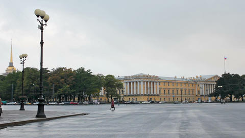 Main Admiralty, Saint Petersburg, Russia Stock Video Footage