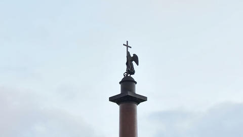 Alexander Column Stock Video Footage