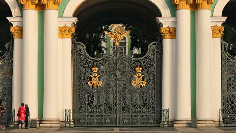 Gate stock footage