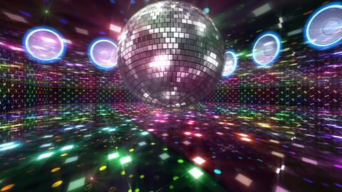 Disco Floor B1Bs HD Animation