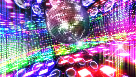 Disco Floor B2C1c HD Stock Video Footage