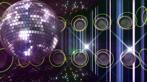 Disco Floor C1H1A HD Stock Video Footage