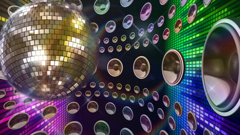 Disco Floor C1J1BC3 HD Animation