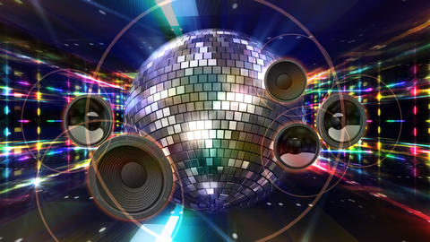 Disco Floor C1Sp HD Stock Video Footage