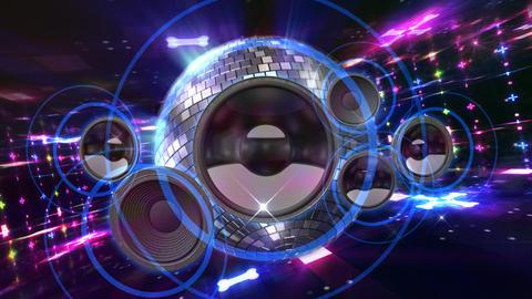 Disco Floor C2Sp HD Stock Video Footage