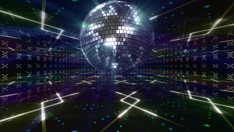Disco Floor D1Bs HD Stock Video Footage