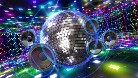Disco Floor D2Sp HD Stock Video Footage
