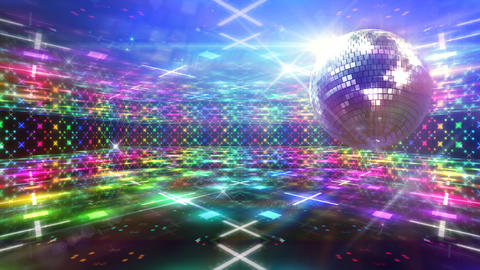 Disco Floor D4Sc HD Stock Video Footage