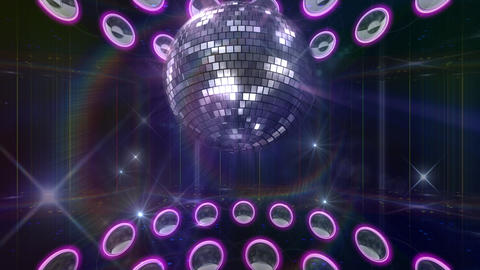 Disco Floor F1A1C1c HD Stock Video Footage