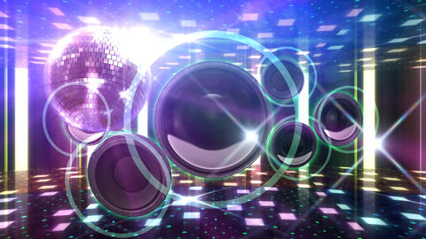 Disco Floor F1B1Sp HD Stock Video Footage